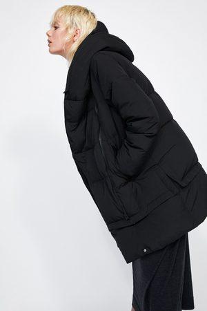 designer fashion de1f0 f0c84 Piumino lungo con collo avvolgente