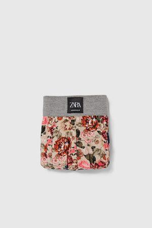 Zara Boxer stampa floreale