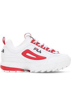 scarpe fila alte rosse
