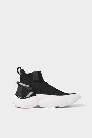 Zara Sneaker stivaletto calzino