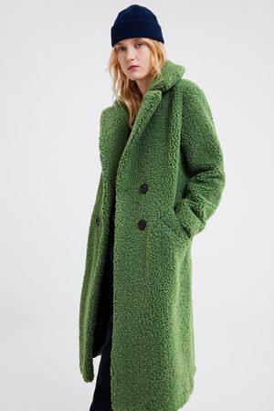 Zara Cappotto in montone sintetico