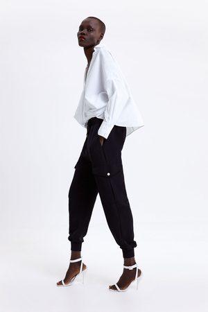 Zara Pantaloni jogger tasche