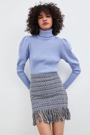 Zara Minigonna frange