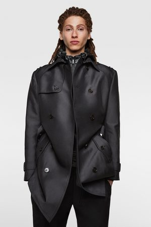 Zara Trench doppiopetto satin