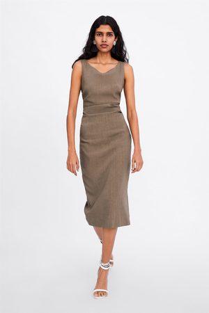 Zara Vestito arricciature