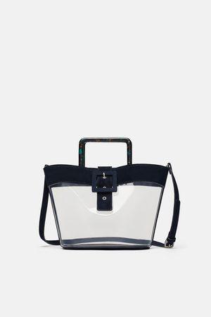 Zara Borsa shopper vinile pelle