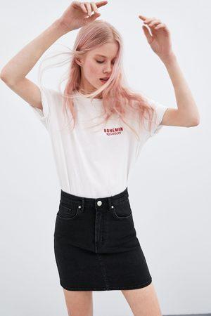 Zara Minigonna denim