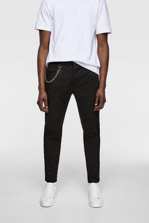 Zara Pantaloni skinny catena