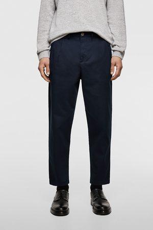 Zara Pantaloni chino pieghe