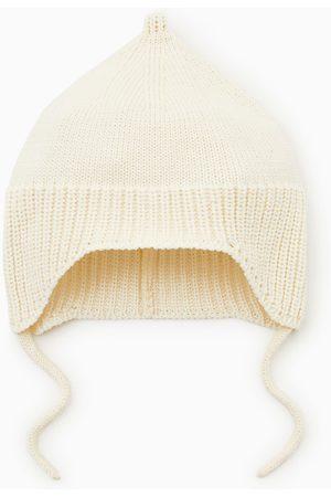 Zara Berretto in maglia lacci