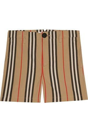 Burberry Shorts Icon Stripe in cotone