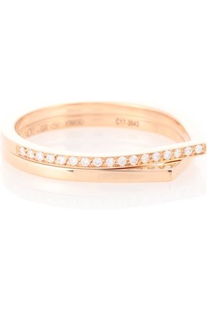 Repossi Anello Antifer in rosa 18kt e diamanti
