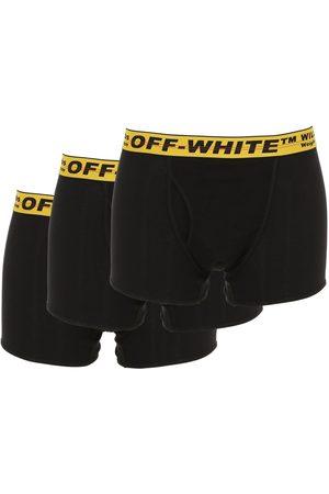 OFF-WHITE Set Di 3 Boxer In Misto Cotone