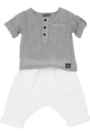 YELLOWSUB Bambina Pantaloni - Camicia E Pantaloni In Cotone