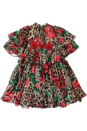 Dolce & Gabbana Abito In Chiffon Di Seta