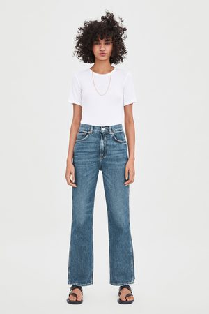 Zara Jeans hi rise straight relax fit