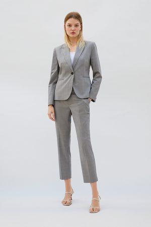 Zara Pantaloni a sigaretta a quadri