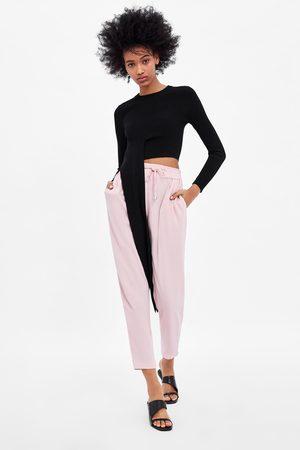 Zara Pantaloni con vita jogger