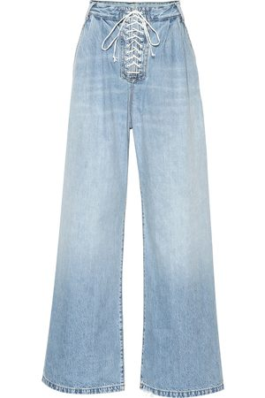 UNRAVEL Jeans a vita alta
