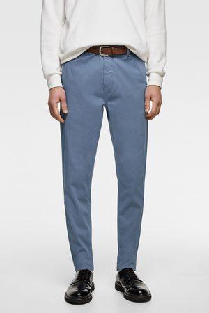 Zara Pantaloni chino cintura