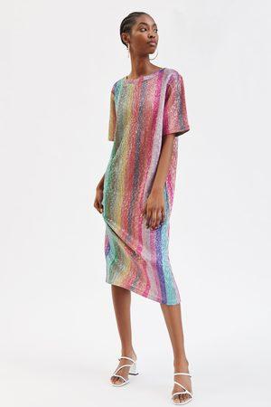 bb802f44a5bf Zara Paillettes Abbigliamento Donne