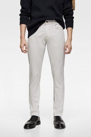 Zara Pantaloni slim colorati
