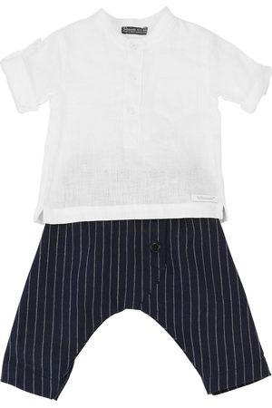 YELLOWSUB Pantaloni E Camicia In Misto Lino