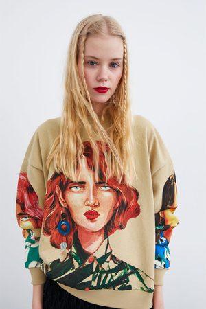 Zara Felpa stampata