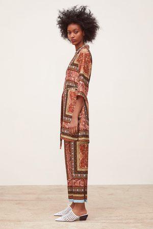 Zara Tunica corta stampata