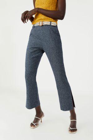 Zara Pantaloni strutturati con cintura