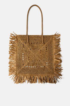 Zara Borsa shopper xxl naturale