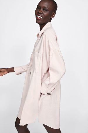 Zara Vestito chemisier con bottoni