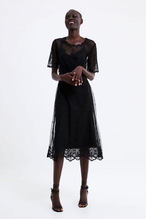 Zara Vestito pizzo