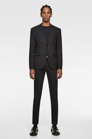 Zara Uomo Blazer - Blazer super skinny