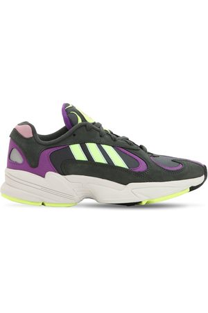 """adidas Sneakers """"yung-1"""" In Pelle E Rete"""