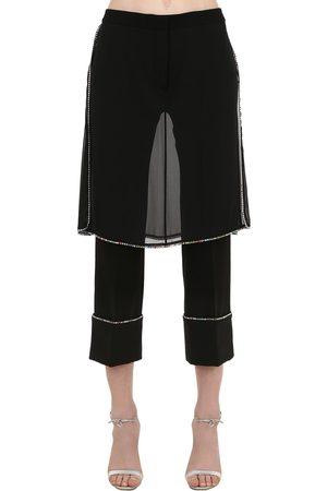MARCO DE VINCENZO Donna Pantaloni - Pantaloni Con Cristalli