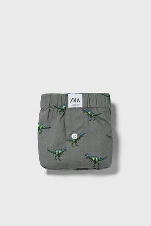 Zara Boxer popeline stampa dinosauri