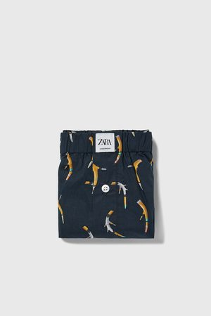 Zara Boxer popeline stampati