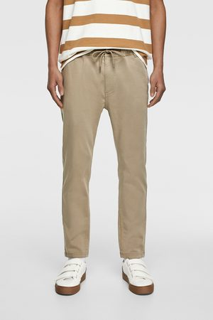 Zara Pantaloni jogger soft cotton