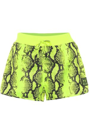 OFF-WHITE Shorts a stampa pitonata