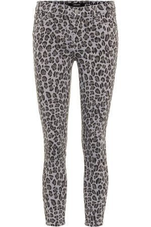 J Brand Jeans skinny 835 a stampa leopardata