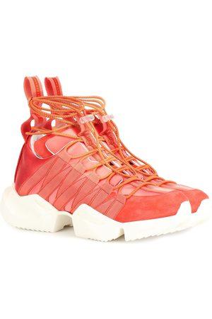 UNRAVEL Sneakers in raso e suede