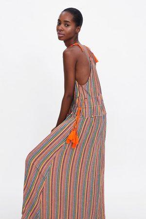 Zara Multicoloured dress with straps