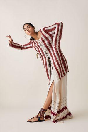 Zara Studio cappotto crochet bicolore edizione limitata