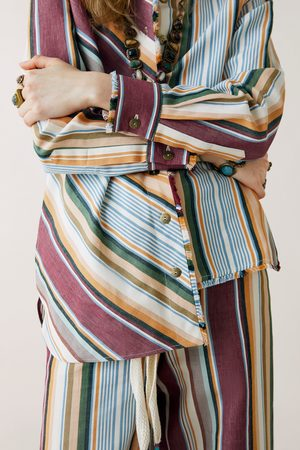 Zara Studio camicia a righe edizione speciale