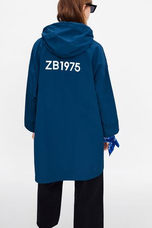 Zara Impermeabile con cappuccio