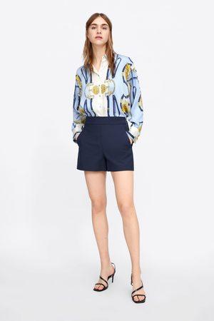 Zara Shorts vita alta