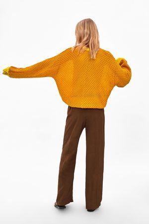 Zara Felpa con tricot