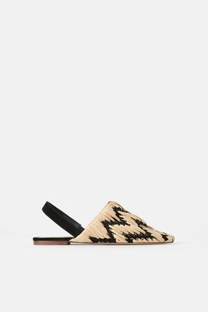 Zara Scarpa bassa slingback intrecciata