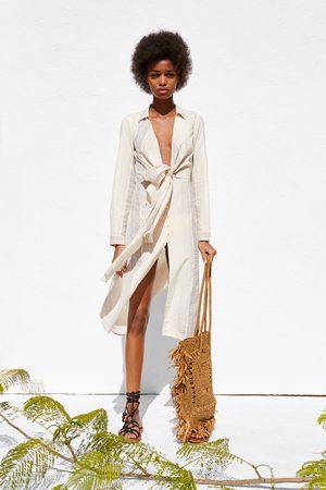 Zara Camicia a righe nodo